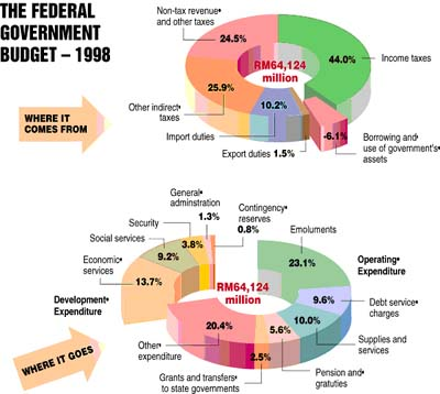 The Federal Government Budget - 1998